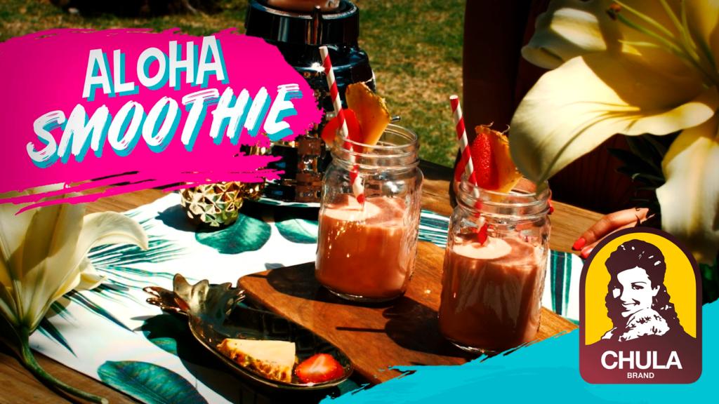 Aloha smoothie Chula Brand